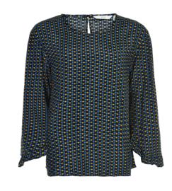Blouse nuailish shirt viscose