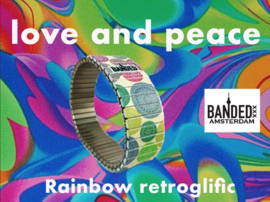 Banded Amsterdam Bracelet Rainbow Retroglific