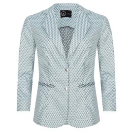 JL blazer White Green