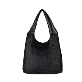 Micha mesh shoulder bag black