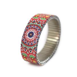 Banded Amsterdam Bracelet Chromatrope Slide –  Rambling Rose