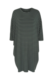 Jurk/Tuniek Higher Love Green Stripes