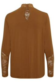 Shirt met kant, 2 kleuren