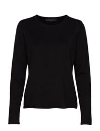 Zara o-neck, zwart