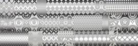 Concept - Patchwork White 25x75 cm