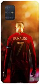 Cristiano Ronaldo telefoonhoesje Samsung Galaxy A51 softcase