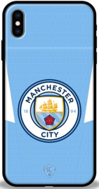Manchester City hoesje iPhone Xs Max softcase TPU