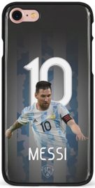 Messi Argentinië hoesje iPhone 7 backcover softcase