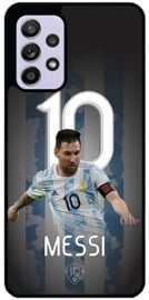 Messi Argentinië telefoonhoesje Samsung Galaxy A52 softcase