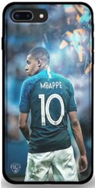Mbappe TPU voetbal hoesje iPhone 8 Plus