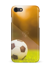 Voetbal telefoonhoesje iPhone 8 softcase