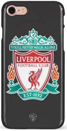 Liverpool logo hoesje zwart iPhone 7 softcase