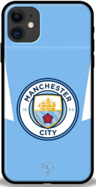 Manchester City hoesje iPhone 11 softcase TPU
