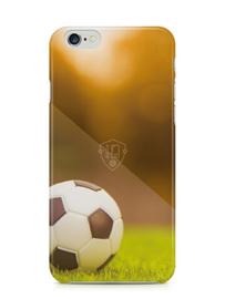 Voetbal telefoonhoesje TPU iPhone 6 / 6s