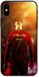 Cristiano Ronaldo hoesje iPhone Xs Max backcover softcase