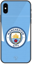 Manchester City hoesje iPhone X softcase TPU