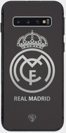 Real Madrid logo telefoonhoesje Samsung Galaxy S10 softcase