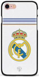 Wit Real Madrid hoesje iPhone 7 sotftcase TPU