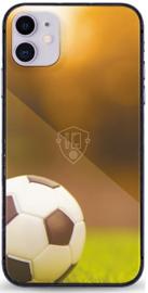 Voetbal telefoonhoesje iPhone 11 softcase