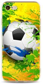 Samba Brazilië voetbal hoesje iPhone 8 softcase