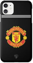 Zwart Manchester United hoesje iPhone 11 softcase