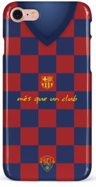 FC Barcelona shirt hoesje iPhone 8 softcase