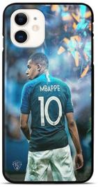 Mbappe telefoonhoesje iPhone 12 backcover softcase