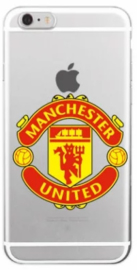 Manchester United logo hoesje iPhone X softcase