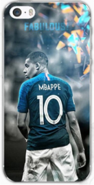 Mbappe TPU voetbal hoesje iPhone 6 / 6s