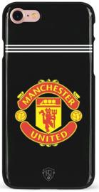 Zwart Manchester United hoesje iPhone 7 softcase