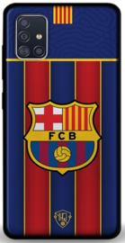 FC Barcelona hoesje Samsung Galaxy A51 softcase