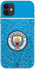 Manchester City telefoonhoesje iPhone 12 softcase