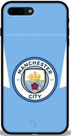 Manchester City hoesje iPhone 7 Plus backcover softcase