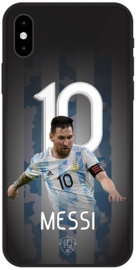 Messi Argentinië hoesje iPhone Xr backcover softcase