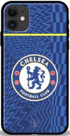 Blauw Chelsea hoesje iPhone 11 softcase TPU