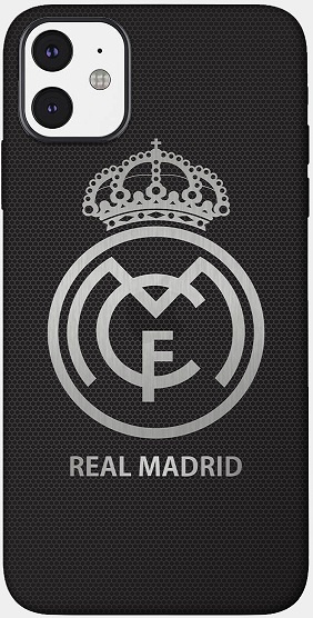 Real Madrid telefoonhoesje iPhone 12 mini softcase