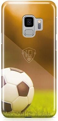 Voetbal hoesje Samsung Galaxy S9 softcase