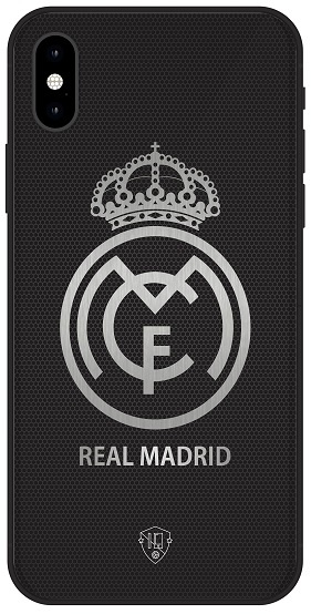 Real Madrid logo telefoonhoesje iPhone X softcase