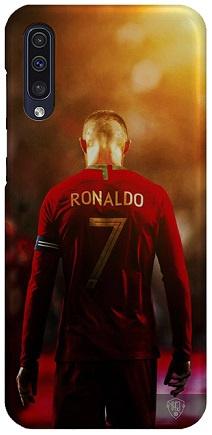 Cristiano Ronaldo hoesje Samsung Galaxy A50 softcase