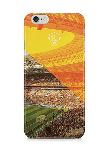 iPhone voetbal ontwerp stadion hoesje