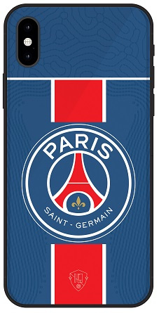 PSG hoesje iPhone Xs softcase