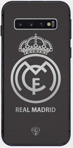 Real Madrid logo telefoonhoesje Samsung Galaxy S10 softcase