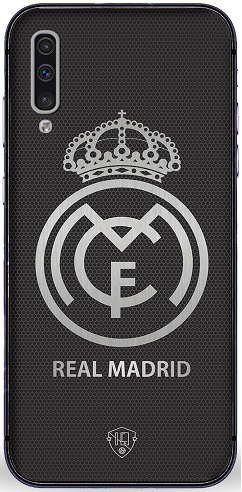 Real Madrid telefoonhoesje Samsung Galaxy A50 softcase