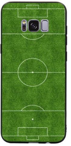 Voetbalveld hoesje Samsung Galaxy S8 Plus