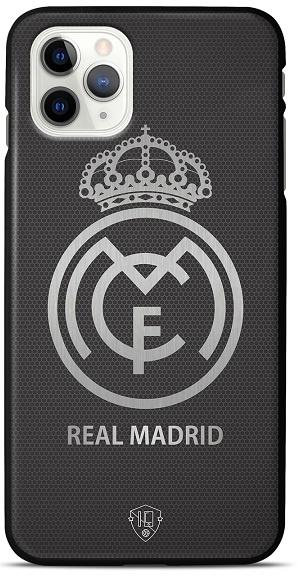 Real Madrid telefoonhoesje iPhone 12 Pro Max backcover zwart
