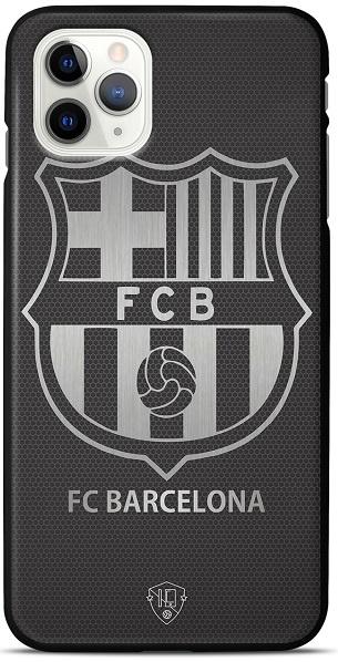 FC Barcelona telefoonhoesje iPhone 12 Pro Max backcover zwart