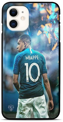 Mbappe telefoonhoesje iPhone 12 mini backcover softcase