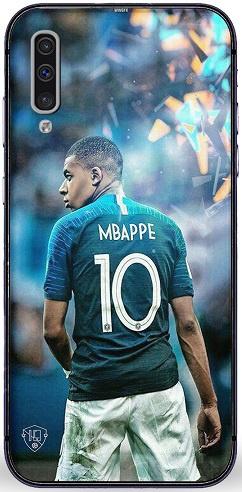 Mbappe telefoonhoesje Samsung Galaxy A50 softcase