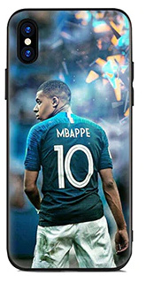 Mbappe hoesje iPhone X softcase