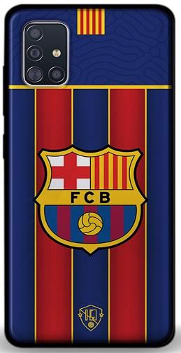 FC Barcelona telefoonhoesje Samsung Galaxy A51 softcase